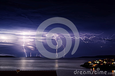 Storm on the island