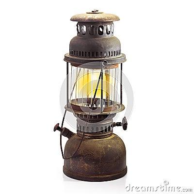 Free Storm Lantern Isolated Stock Images - 46198664