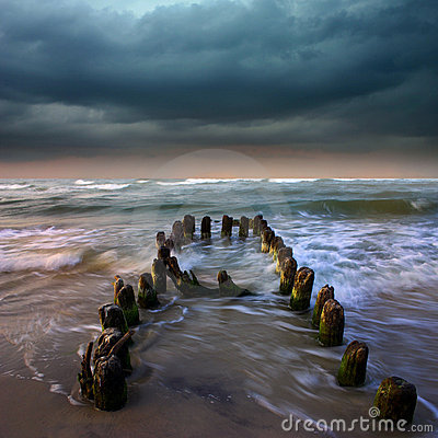 Storm o the sea