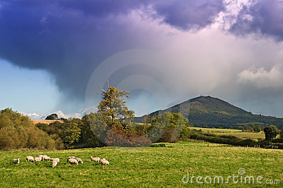 Storm over the Wrekin