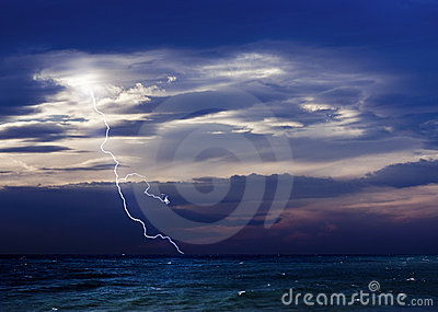 Storm and The Sea