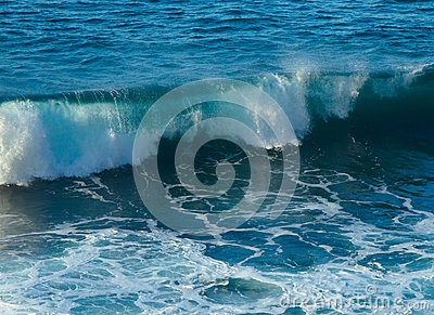 Storm seascape