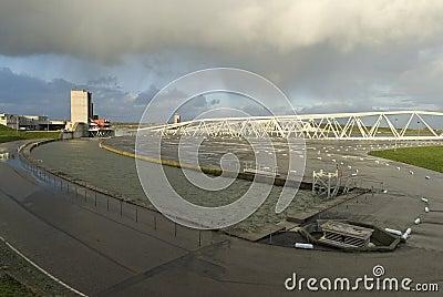 Storm surge barrier Maeslant
