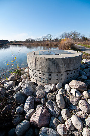 Stormwater Management - Perforated Concrete Pipe