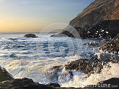 Stormy Atlantic waves