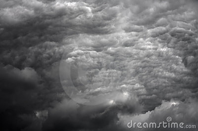 Stormy clouds in HDR