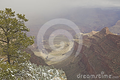 Stormy Grand Canyon