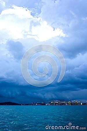 Stormy Harbor