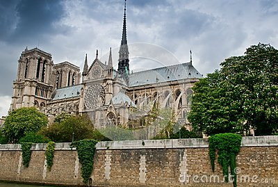 Stormy Notre Dame