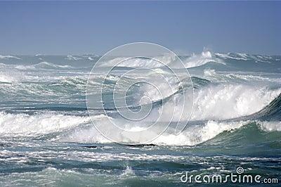 Stormy Ocean Breakers
