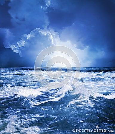 Free Stormy Sea Stock Photo - 15799420