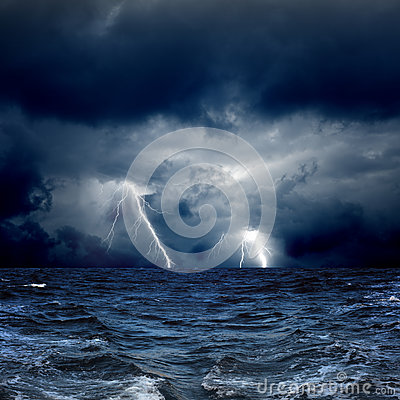 Free Stormy Sea Stock Photography - 29406422