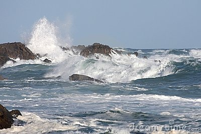 Stormy Sea and Waves