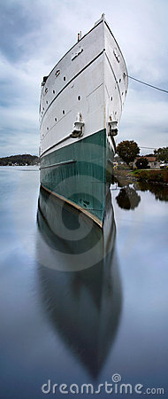 Stort fartyg