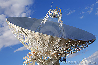Stort radioteleskop
