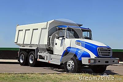 Stortplaats-lichaam vrachtwagen