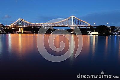 Story Bridge Dusk