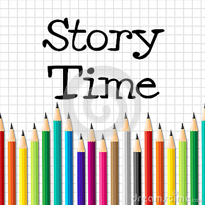 Free Story Time Represents Imaginative Writing And Children Royalty Free Stock Images - 46493259