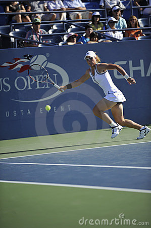 Stosur Samantha at US Open 2010 (23) Editorial Stock Photo