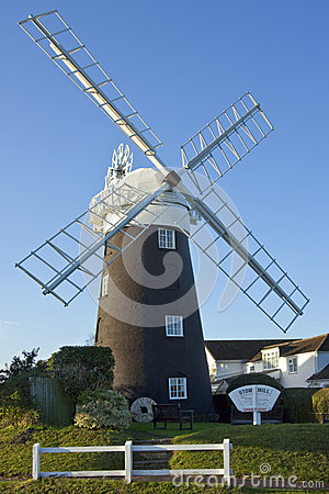 Stow Windmill - Maudsley - Norfolk - England Editorial Image