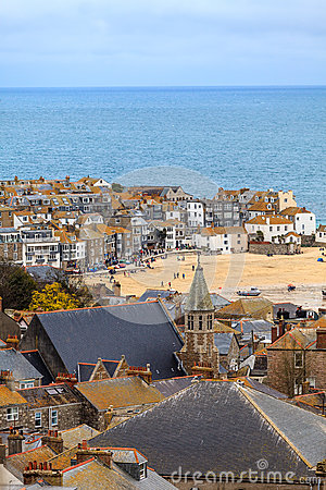 Str. Ives Cornwall, Großbritannien