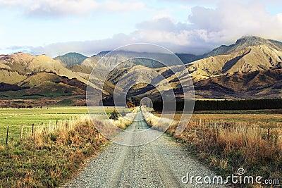 Straße-Reise nach Neuseeland