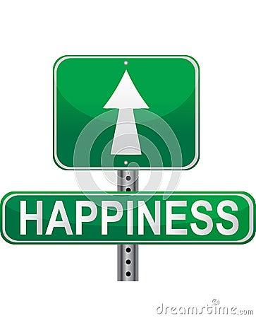Straße zum Glück