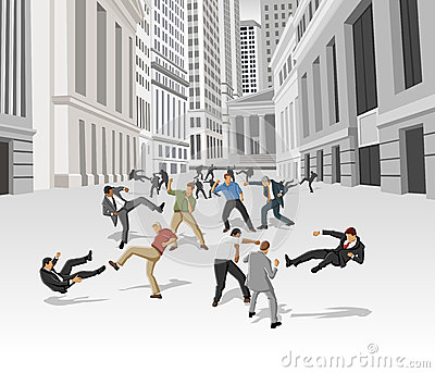 Straßenkampf