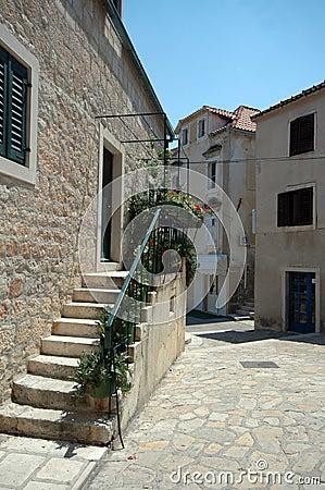 Straßenszene Kroatien