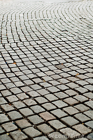 Strada di massima della pavimentazione del Cobblestone