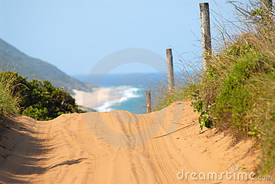 Strada nel Mozambico
