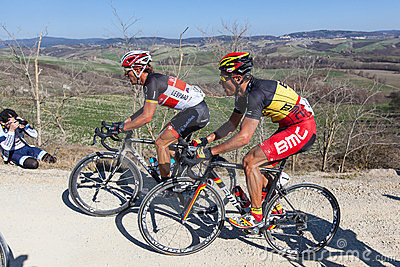 Strade Bianche 2012 Editorial Photo