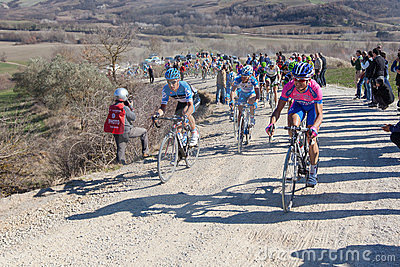 Strade Bianche 2012 Editorial Image