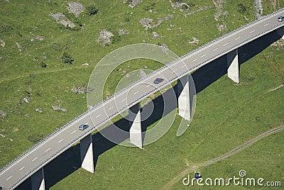 Straßen-Viadukt