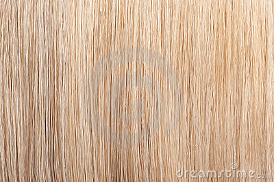 Straight blond hair background