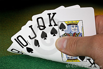 Straight Flush - Poker - Winning Hand