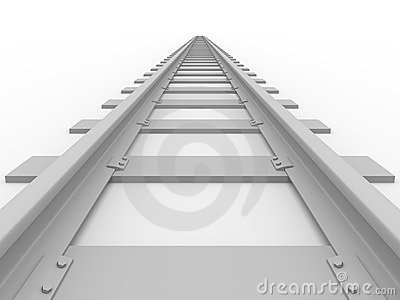 Straight railroad