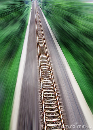 Straight Railway Tracks