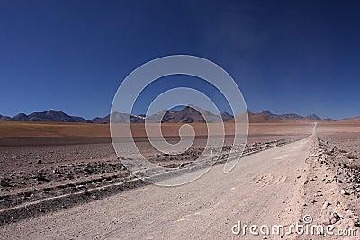 Straight road to san pedro