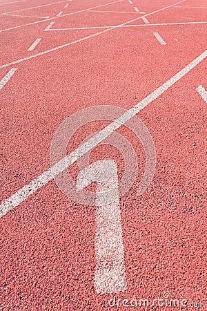 Straight Running Track