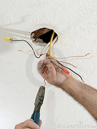 Straightening Electric Wires