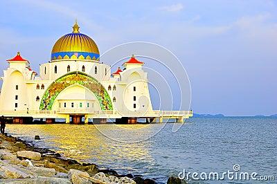 Straits Mosque, Melaka