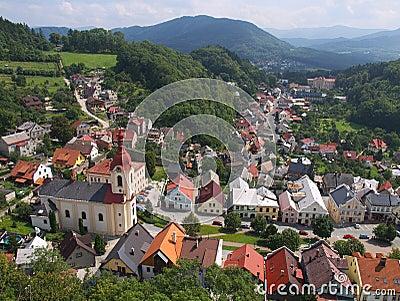 Stramberk - town i den tjeckiska republiken