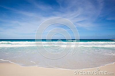 Strand en overzees