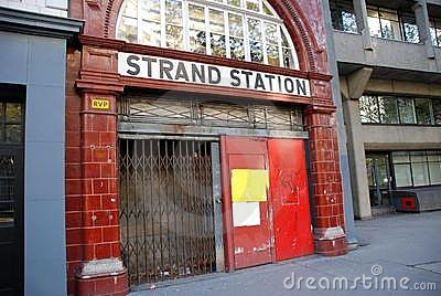 Strand Station, London