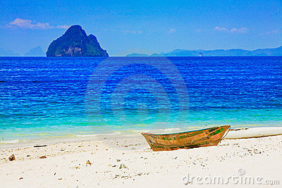 Stranded on island