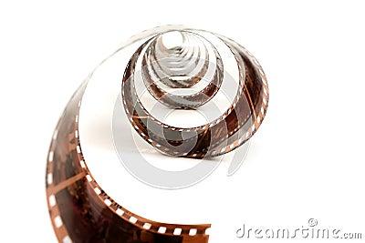 Stranded negative film