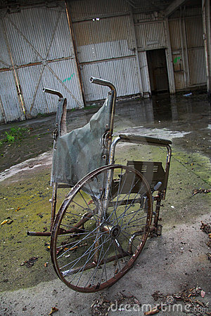Stranded Wheelchair