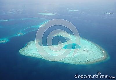 Strange atoll
