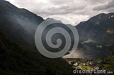 Strange feel on the fjord